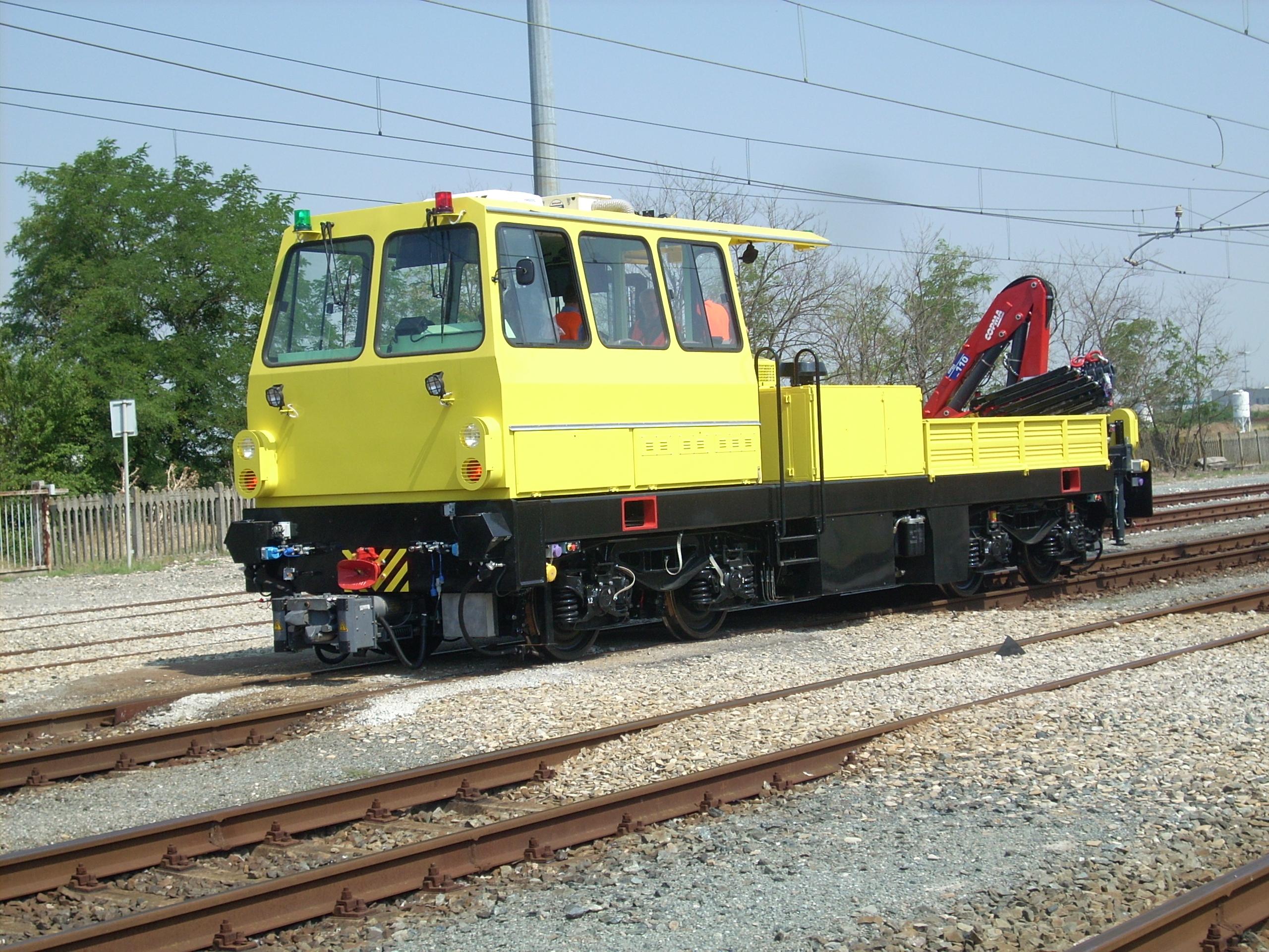 Camion Ferroviario