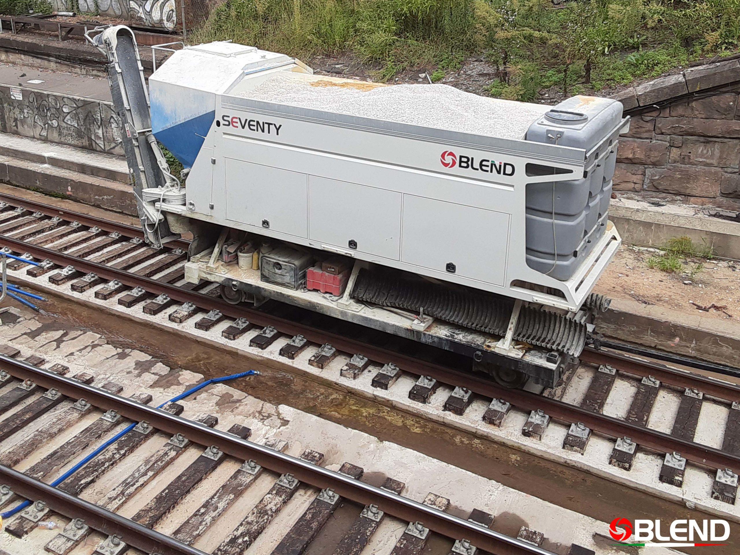 Impianto Ferroviario Calcestruzzo